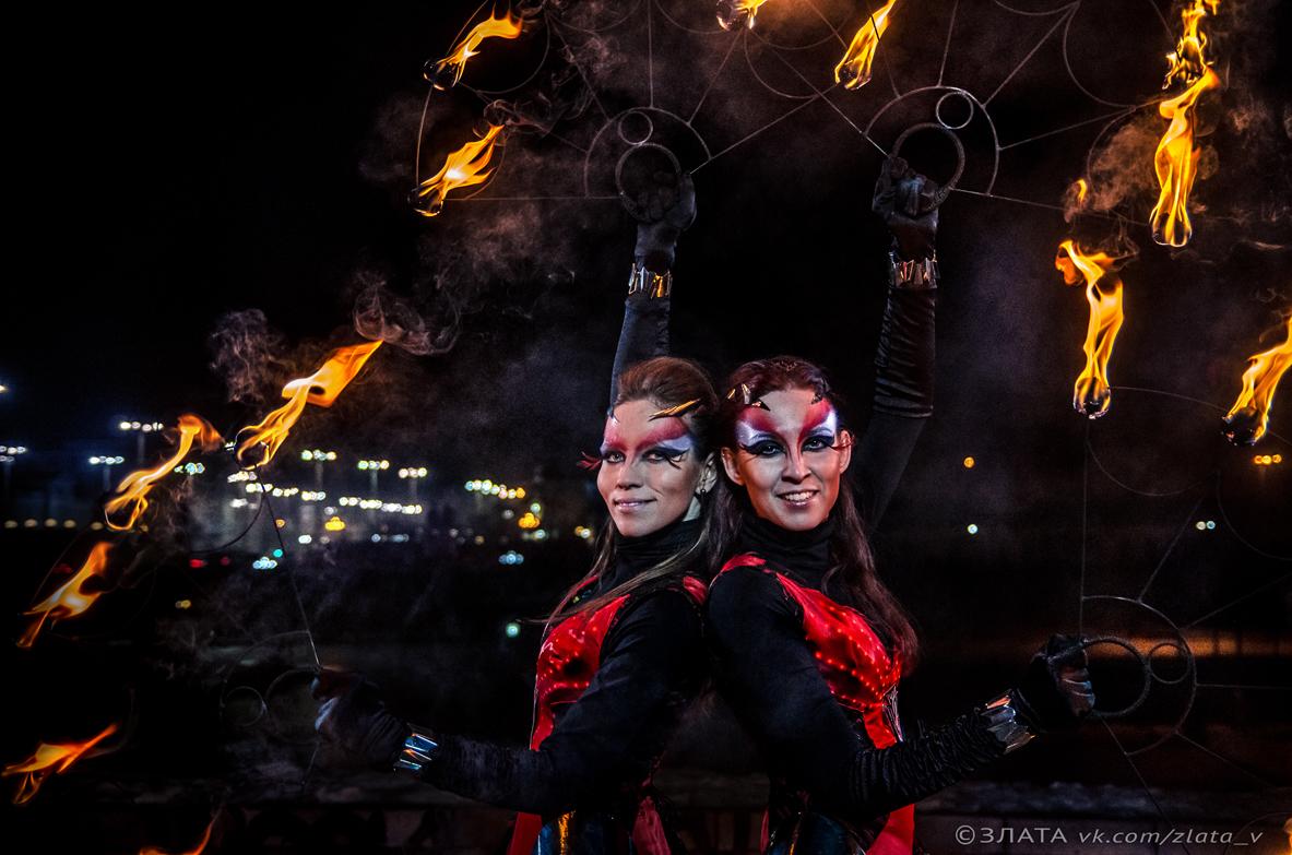 Огненное шоу Дуэт
