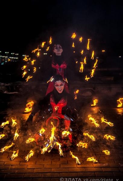 Огненное шоу Kairos